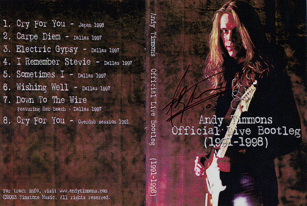 Official Live Bootleg DVD