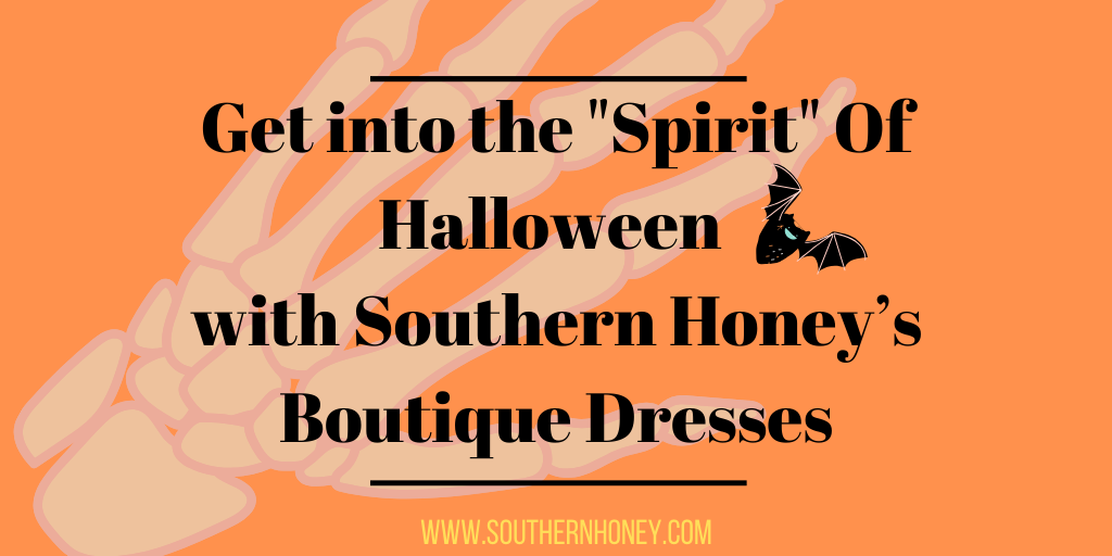 "Get into the ""Spirit"" Of Halloween with Southern Honey's Boutique Dresses"