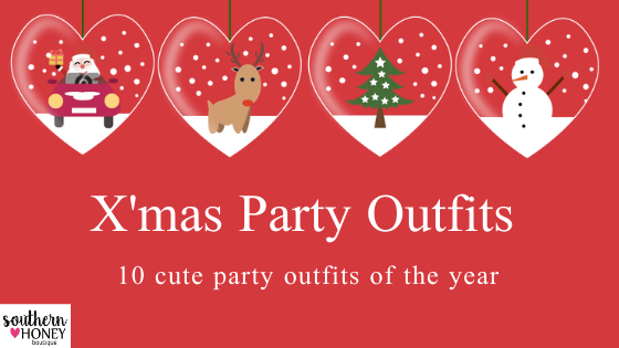 10 Cute Outfits For the Upcoming X'Mas Party