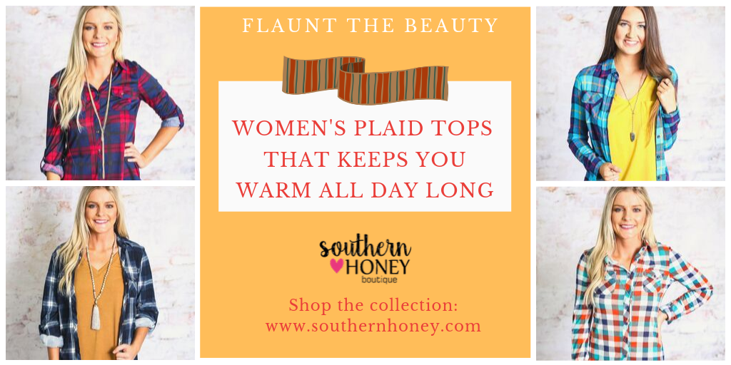 5 Women's Plaid Tops That Keeps You Warm All Day Long