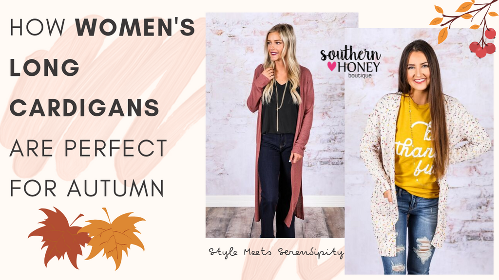 How Women's Long Cardigans Are Perfect For Autumn 2019