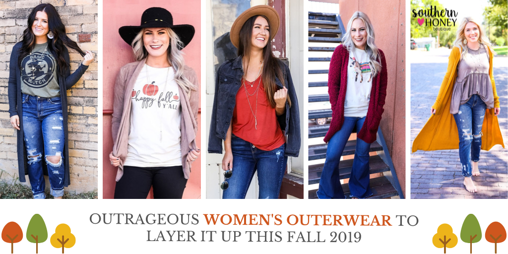 Outrageous Women's Outerwear To Layer it Up This Fall 2019