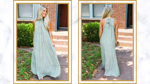 Show off your Maxi Dress