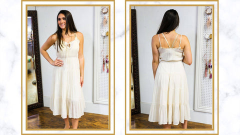 Go with the Flow with a Flowy Dress