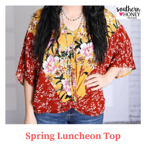 Spring Luncheon Top