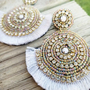 Ballroom Invite Earrings