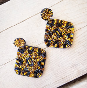 Into The Jungle Earrings
