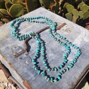 Turquoise Layering Necklace - Small Nugget