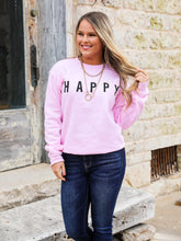 Happy Graphic Sweatshirt