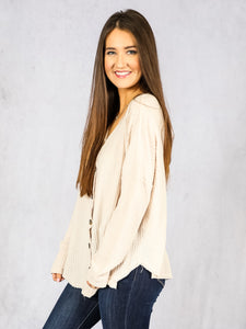 Fun In Fall Button Top