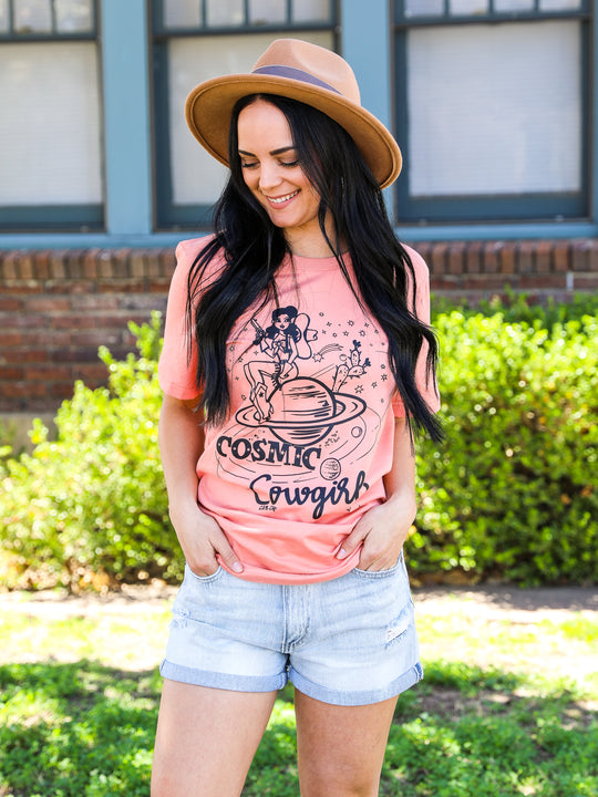 Cosmic Cowgirl Graphic Tee