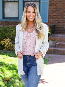 The Perfect Linen Blazer