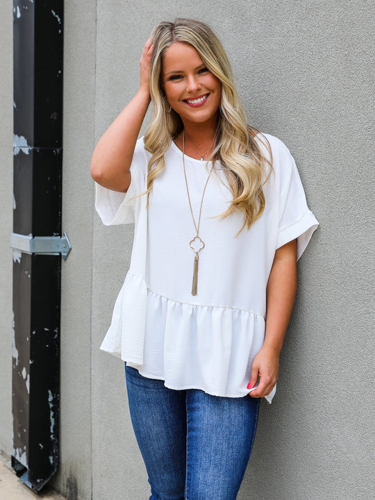 The Brittany Babydoll Top