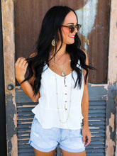 Little Button Front Cami