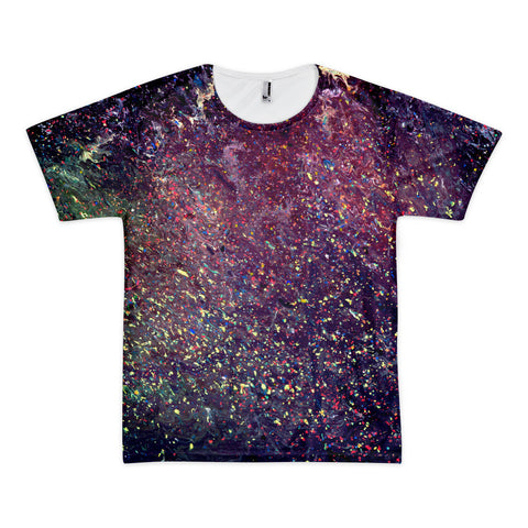 "Art Meet Clothing: ""The Starrier Night"" American Apparel All-Over T-shirt"