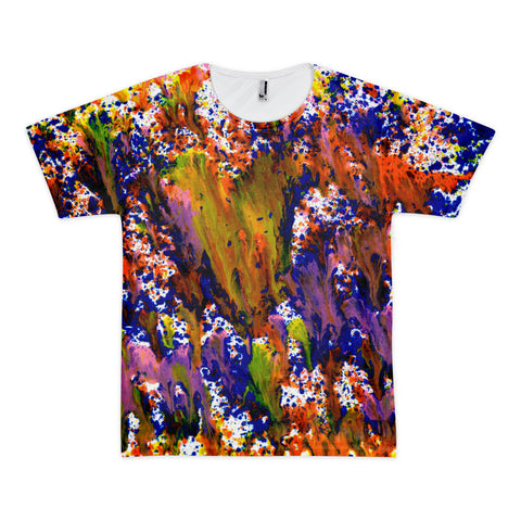 "Art Meet Clothing: ""Found What I'm Looking for"" American Apparel All-Over T-shirt"