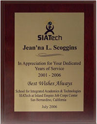 Mahogany Gold Plaque | Gloss Finish
