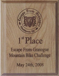 Mini Alderwood Award Plaque | Custom Award Plaques