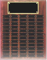 Cherry Perpetual Plaque | 60 Name Plates