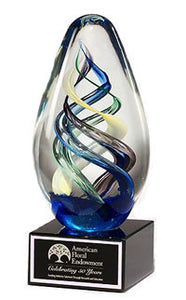 Egg-Shaped Award, Art Glass Award