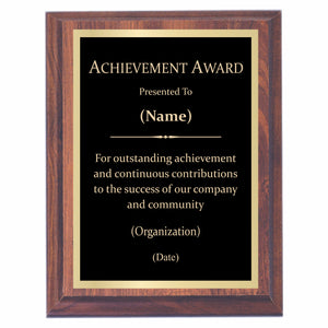 Plaques With Sayings Awards2you Retirement Plaque Wording