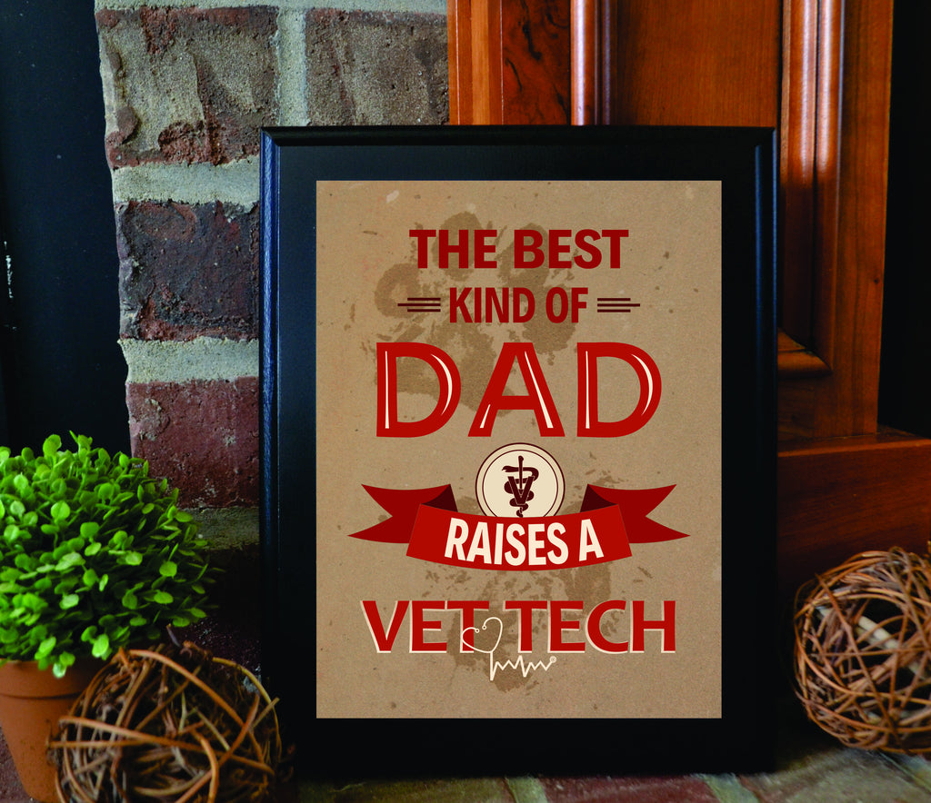 The Best Kind of Dad Raises a Vet Tech