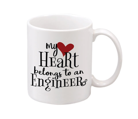 My Heart Belongs to an Engineer Mug