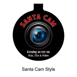 Santa Cam / Elf Cam Ornament