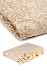 All Natural Decorative Premium Cotton Throw Blanket (Yakut)
