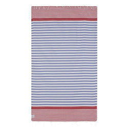 100% Natural Turkish Cotton Ultra-Lightweight Peshtemal Fouta Towel (Galia)