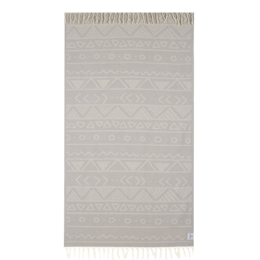 100% Natural Turkish Cotton Lightweight Peshtemal Fouta Towel (Vamos)