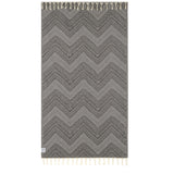 100% Natural Turkish Cotton Lightweight Pesthtemal Fouta Towel (ZigZag)