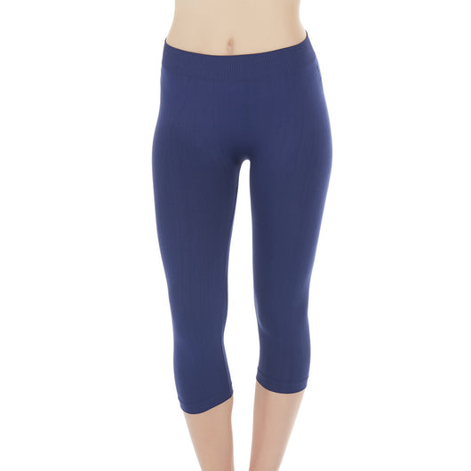 Seamless Capri Tights Leggings