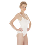 Nude Bamboo Full Body Briefs with Adjustable Straps
