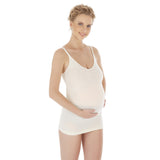 Natural Bamboo Seamless Maternity Adjustable Undershirt Tank Top