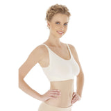 Natural Bamboo Seamless Post Pregnancy Adjustable Strap Breastfeeding Bra