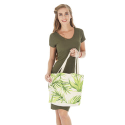 Multi-Purpose Tropical Shopping/Beach Bag