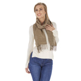 Golden Dotted Four Season Fashion Scarf / Shawl
