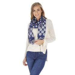 Polka-Dot Design Four Season Fashion Scarf / Shawl