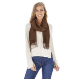 Solid Color Four Season Fashion Scarf / Shawl