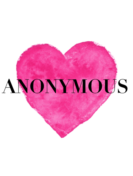 Anonymous - She has never spoke about her story