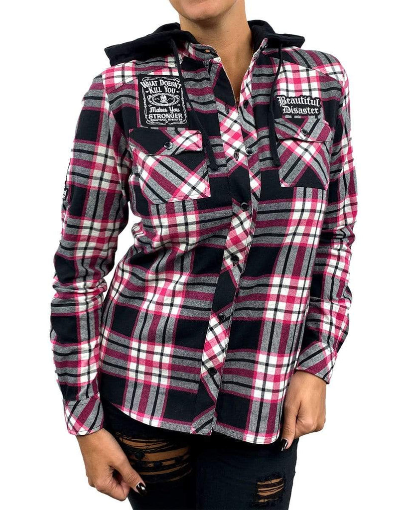 Angel Hooded Flannel