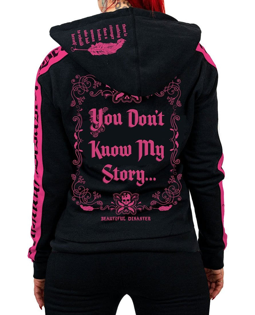 You Don't Know My Story Sweatsuit Zip Hoodie