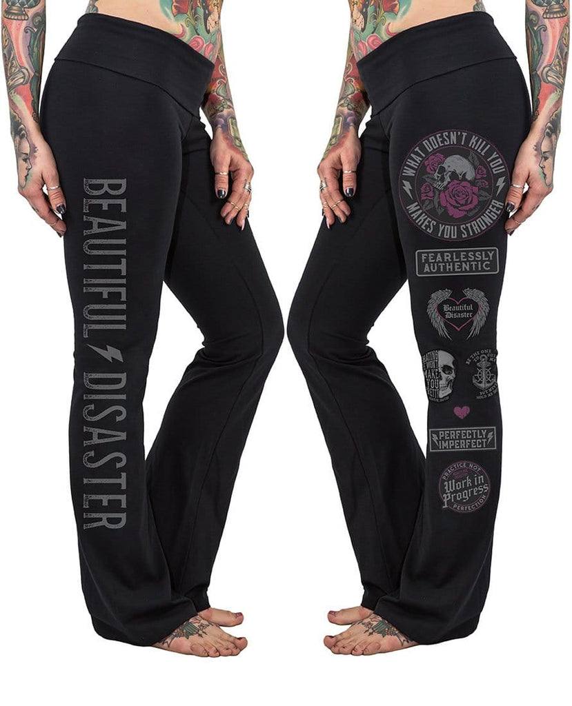 Fearlessly Authentic Yoga Pants