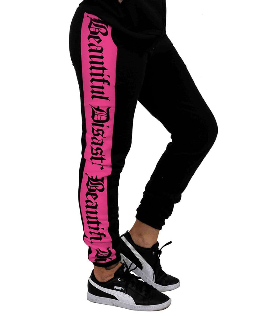 Sweatsuit Bundle & Save Black/Pink
