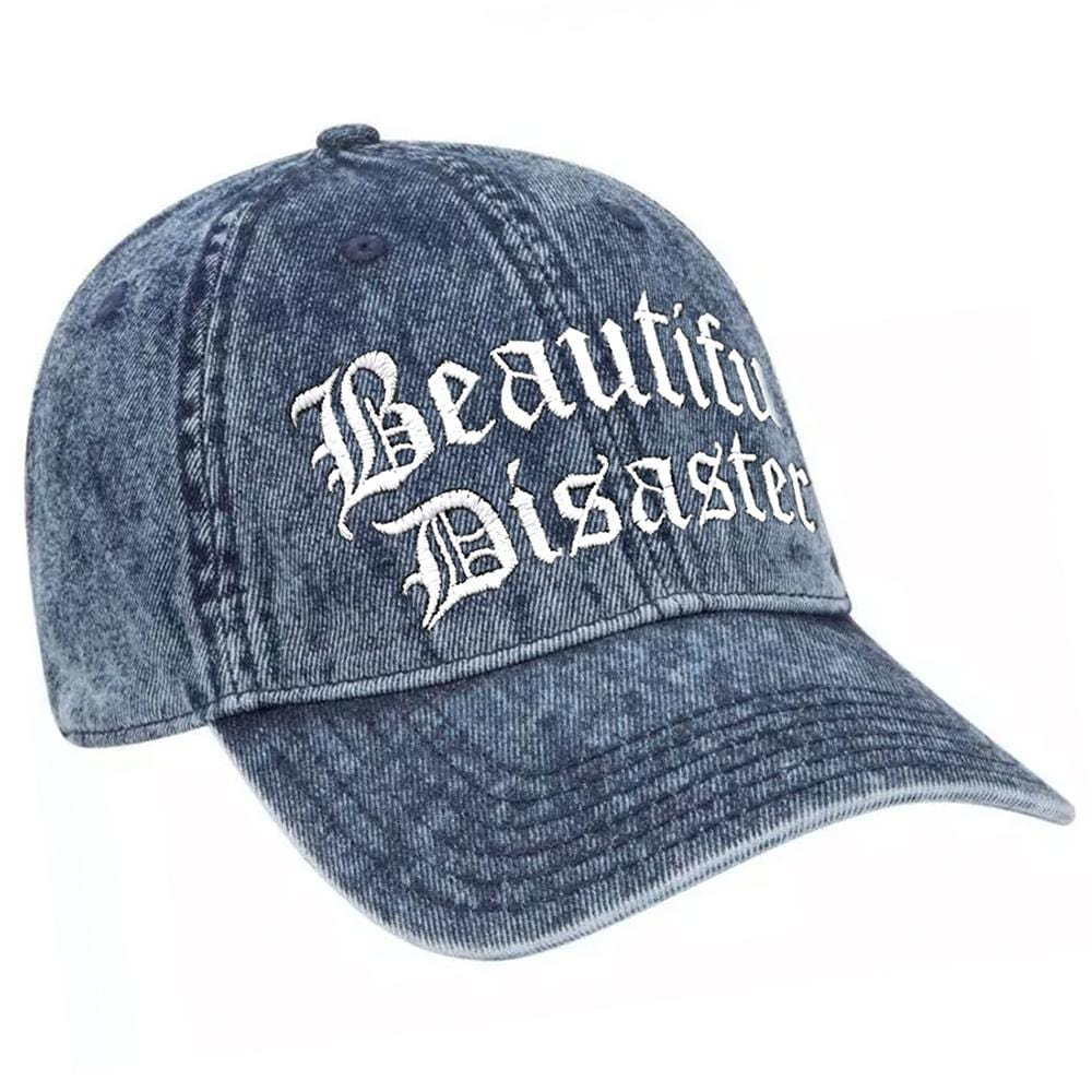 Punk Princess Dad Hat Denim/White