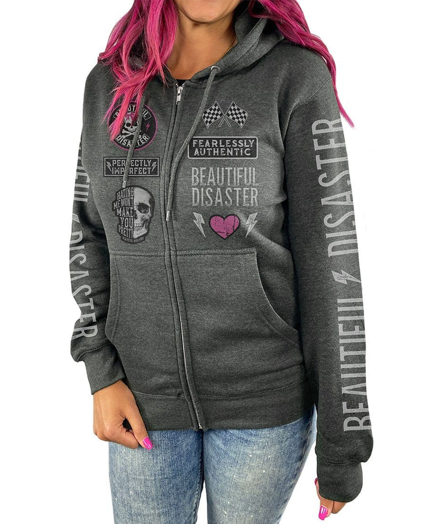 Fearlessly Authentic Zip Hoodie