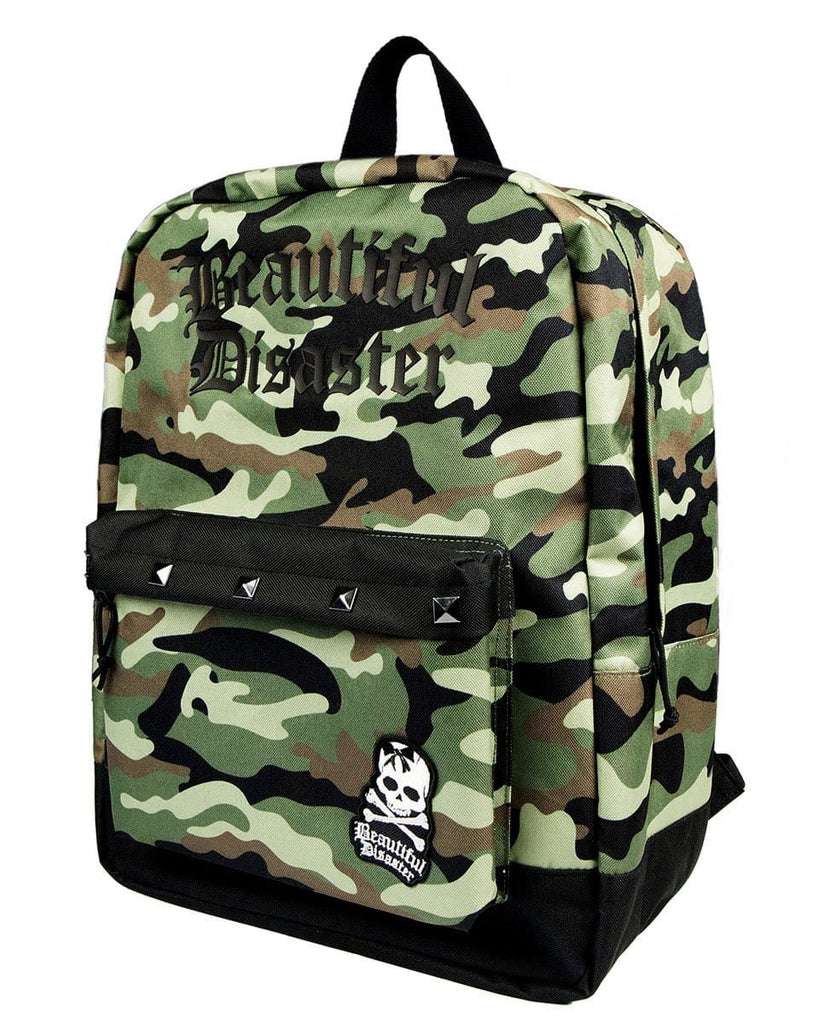 Punk Princess Camo Backpack