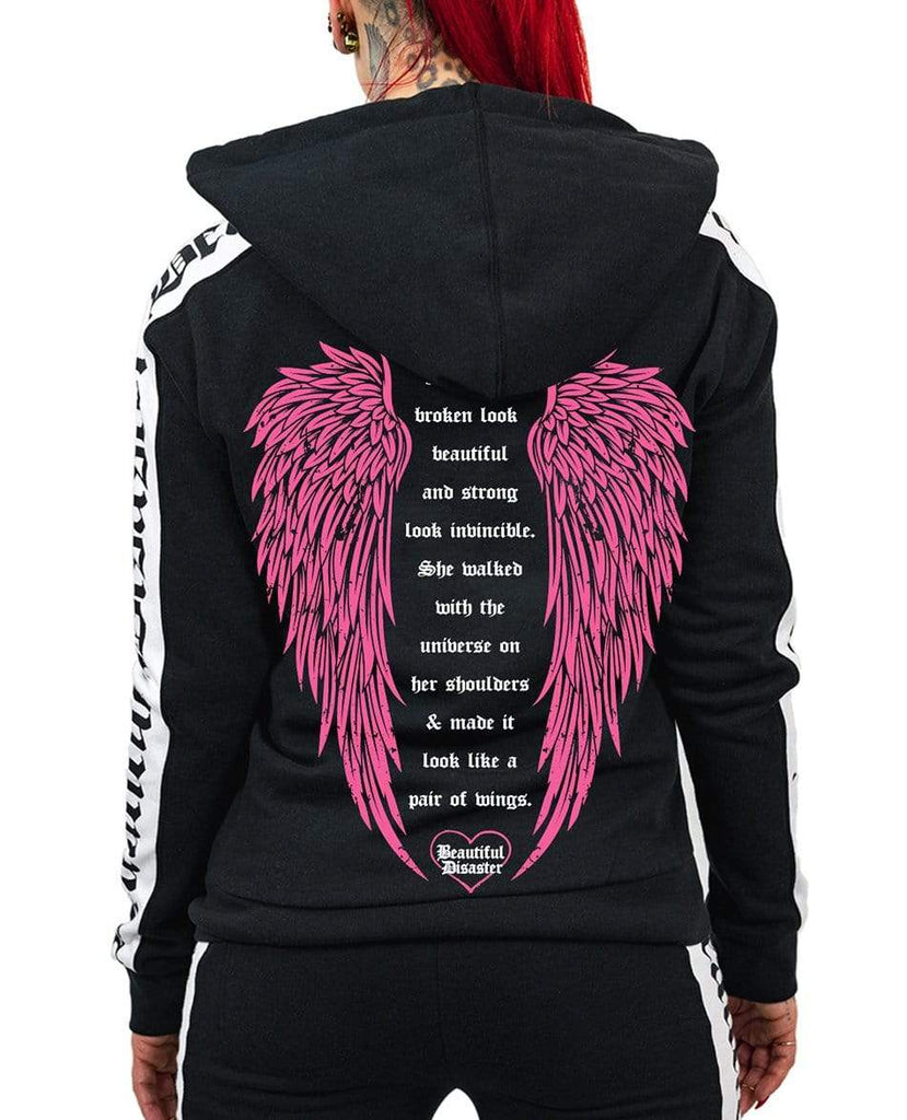 Angel BLK/WHT/PINK Sweatsuit Bundle & Save