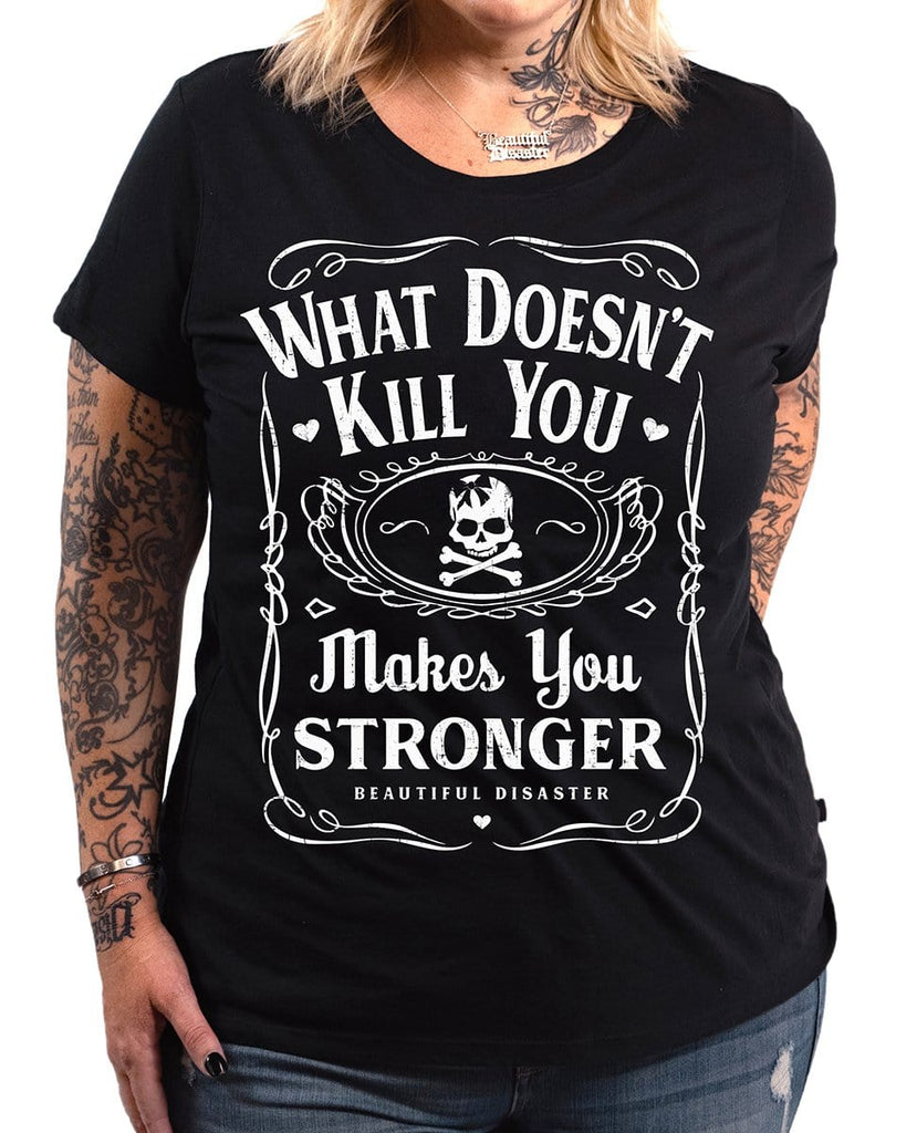 Stronger 100 Proof Tee